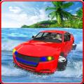Water Surfing Car Simulator Icon