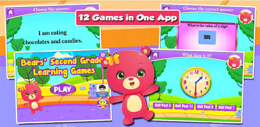 Second Grade Learning Games apk