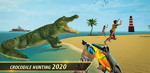 Crocodile Hunting: Wild Animal Shooting Games apk