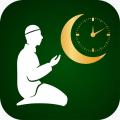 Salat Islam Prayer + Qibla Direction Icon