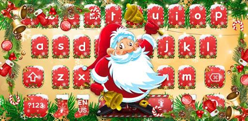 Merry Christmas Keyboard Theme apk