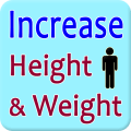 Increase Height and Weight Icon