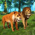 Lion Simulator Family: Animal Survival Games Icon