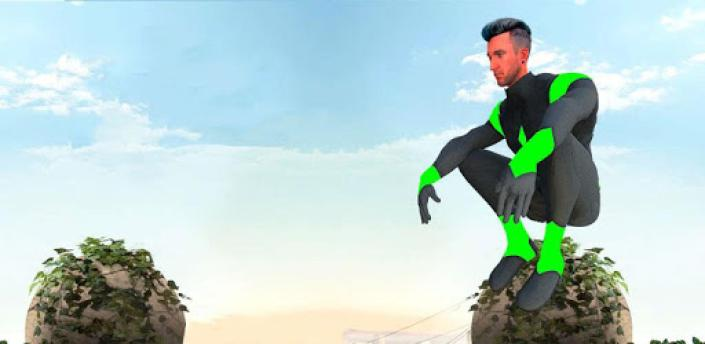 Green Rope Hero Crime City Games – Gangstar Crime apk