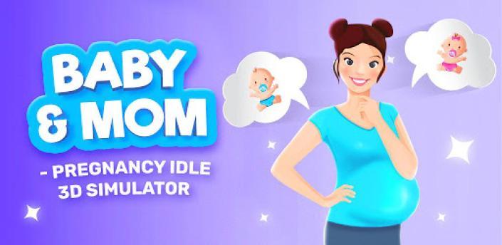 Baby & Mom - Pregnancy Idle 3D Simulator apk