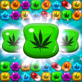 Crush Weed Match 3 Candy Jewel - cool puzzle games Icon