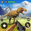 Dinosaur Hunter Free Wild Jungle Animals Safari Icon