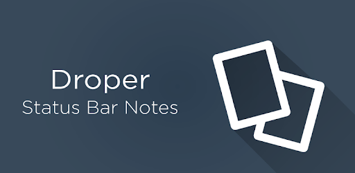 Droper - Notes in Status Bar apk