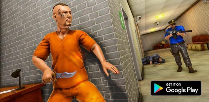 Grand US Police Prison Escape Game apk