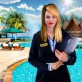 Virtual Hotel Management Job Simulator Hotel Games Icon