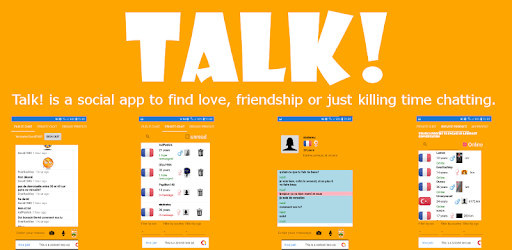 TALK - Online Chat, dating, friends and love. apk
