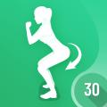 30 Days Buttocks Workout For Women, Legs Workout Icon