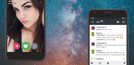 Anonymous Chat Rooms - Galaxy apk