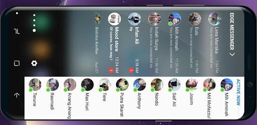 Edge Panel for Messenger apk