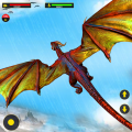 Flying Dragon City Attack Icon