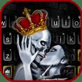 Crown Skull Kiss Keyboard Theme Icon