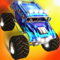 Monster Truck Stunt Speed Race by Kaufcom Icon
