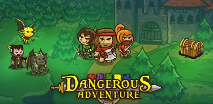 Dangerous Adventure: Puzzle role-playing game apk