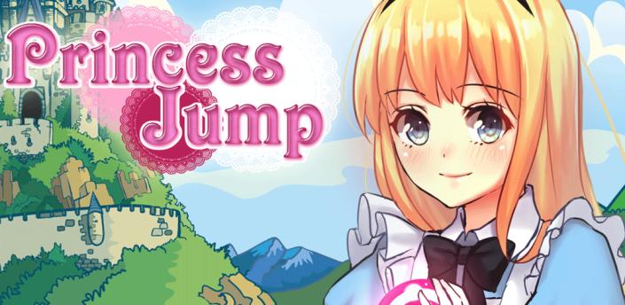 Cartoon Princess Kids Jumping & Running Adventure Jump Game apk