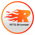 RITS Browser- Fast, Safe & Smart mobile Browser Icon