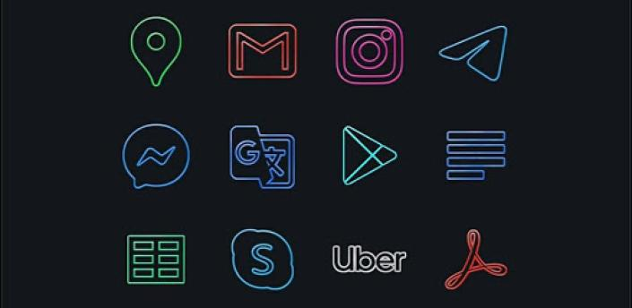 Silver Light 🔹️ Icon Pack apk