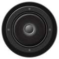 Bass Booster Black Edition Icon