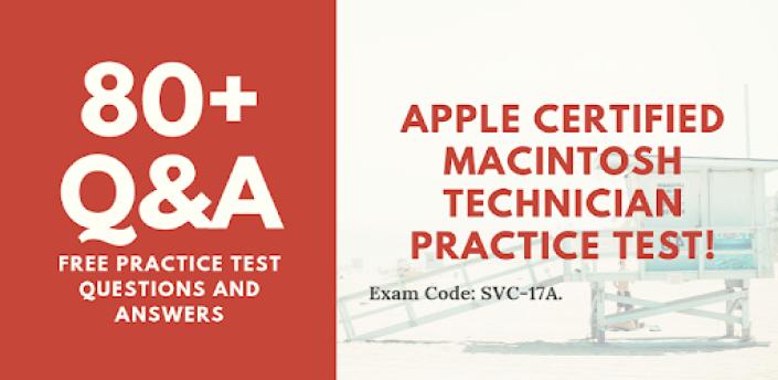Apple Certified Macintosh Technician Practice Test apk