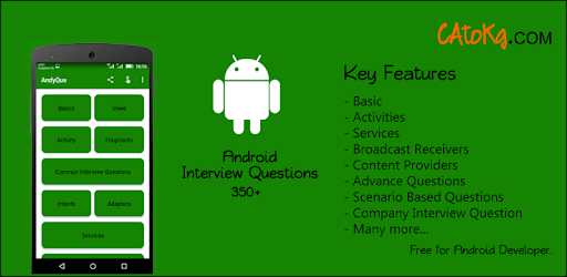 AndyQue - Android Interview Questions apk