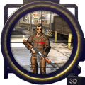 City Sniper Shooting 3D Icon
