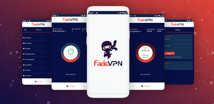 👥 Fade VPN - Unlimited, Fast, Secure VPN apk