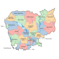 Districts of Cambodia Icon