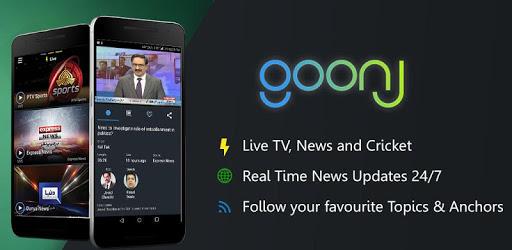 Goonj: Live TV, News & PTV Sports apk