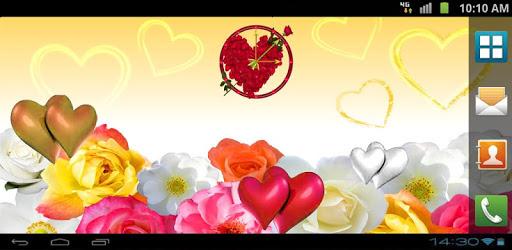 Love Clock Live Wallpaper apk