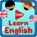 Learn English kids Video Icon