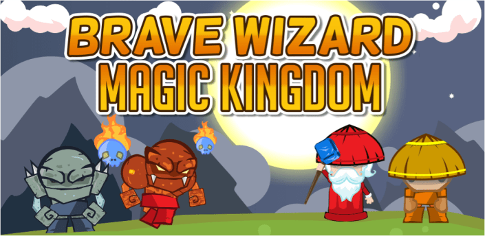 Brave Wizard - Magic Kingdom apk