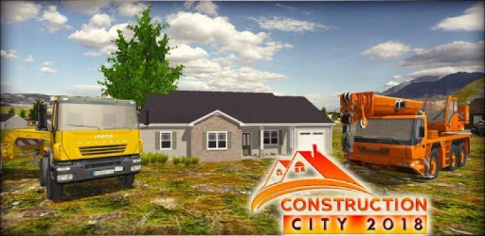 Construction City 2019: Building Simulator apk