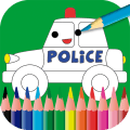 Kids painting & coloring game Icon