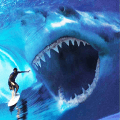 Shark Hunting 3d : Shark Games Icon