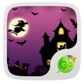 Pink Halloween Keyboard Theme Icon
