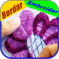 Learn to embroider by hand step by step Icon