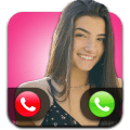 Charli DAmelio Call - Fake video call with Charli Icon
