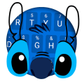 Blue Monster Keyboard Theme Icon