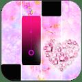 Pink Heart Diamond Magic Tiles Piano Icon