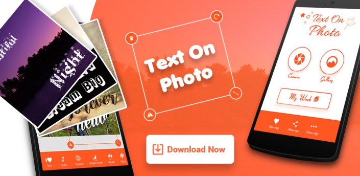 Name / Text on Photo apk