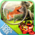 Free New Hidden Object Games Free New Dino Park Icon