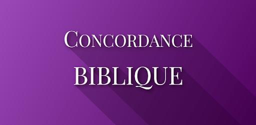 Concordance Biblique et La Bible apk