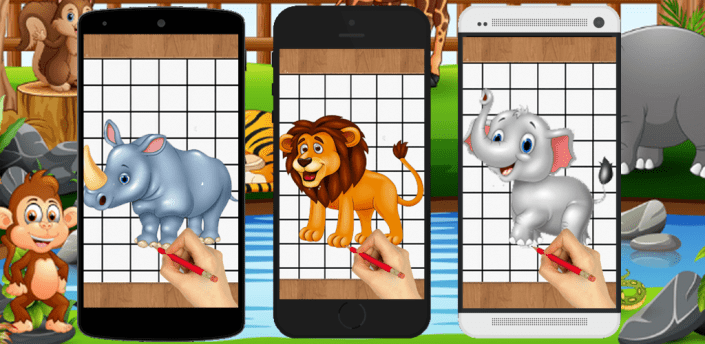 How To Draw Animals Easy apk
