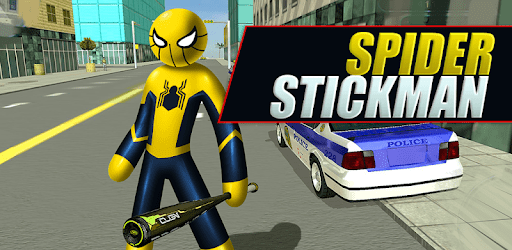 Mafia Spider Stickman Rope Hero Vegas Gangster apk