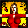 Dead Zombie Halloween Party Icon
