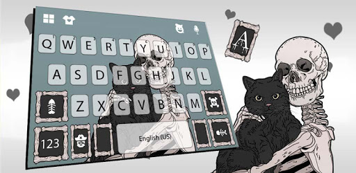 Spooky Best Friends Keyboard Theme apk